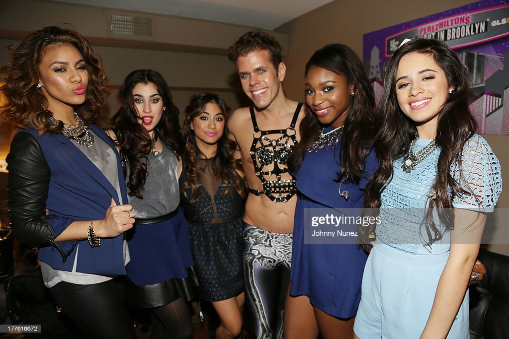 Dinah Hansen, <a gi-track='captionPersonalityLinkClicked' href=/galleries/search?phrase=Lauren+Jauregui&family=editorial&specificpeople=9766444 ng-click='$event.stopPropagation()'>Lauren Jauregui</a>, <a gi-track='captionPersonalityLinkClicked' href=/galleries/search?phrase=Ally+Brooke&family=editorial&specificpeople=9748330 ng-click='$event.stopPropagation()'>Ally Brooke</a>, <a gi-track='captionPersonalityLinkClicked' href=/galleries/search?phrase=Perez+Hilton&family=editorial&specificpeople=598309 ng-click='$event.stopPropagation()'>Perez Hilton</a>, <a gi-track='captionPersonalityLinkClicked' href=/galleries/search?phrase=Normani+Kordei&family=editorial&specificpeople=10084550 ng-click='$event.stopPropagation()'>Normani Kordei</a> and <a gi-track='captionPersonalityLinkClicked' href=/galleries/search?phrase=Camila+Cabello&family=editorial&specificpeople=9951839 ng-click='$event.stopPropagation()'>Camila Cabello</a> attend <a gi-track='captionPersonalityLinkClicked' href=/galleries/search?phrase=Perez+Hilton&family=editorial&specificpeople=598309 ng-click='$event.stopPropagation()'>Perez Hilton</a>'s One Night In Brooklyn at Music Hall of Williamsburg on August 24, 2013 in New York City.