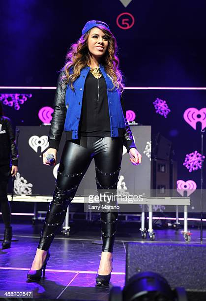 Dinah Jane Hansen of Fifth Harmony performs onstage during Y100's Jingle Ball 2013 Presented by Jam Audio Collection at BBT Center on December 20...