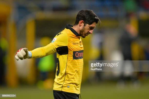 Dinamo bucharest's goalkeeper Jaime Penedo Cano during Football Romania League 1 Stage 21 match between ACS SEPSI Sfantul Gheorghe and FC Dinamo...
