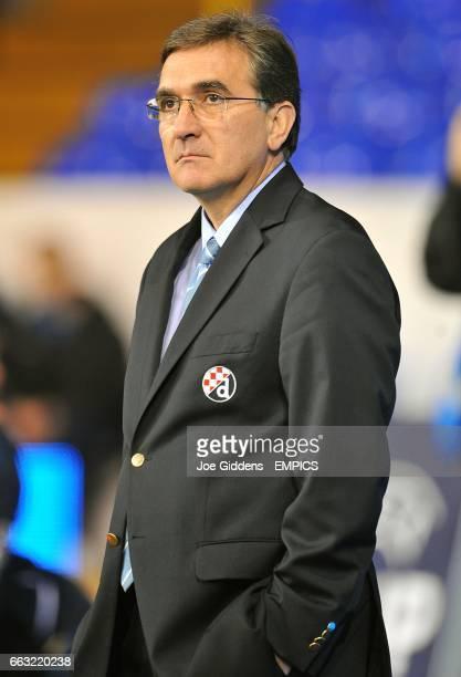 Dinamo Zagreb manager Branko Ivankovic on the touchline prior to kick off