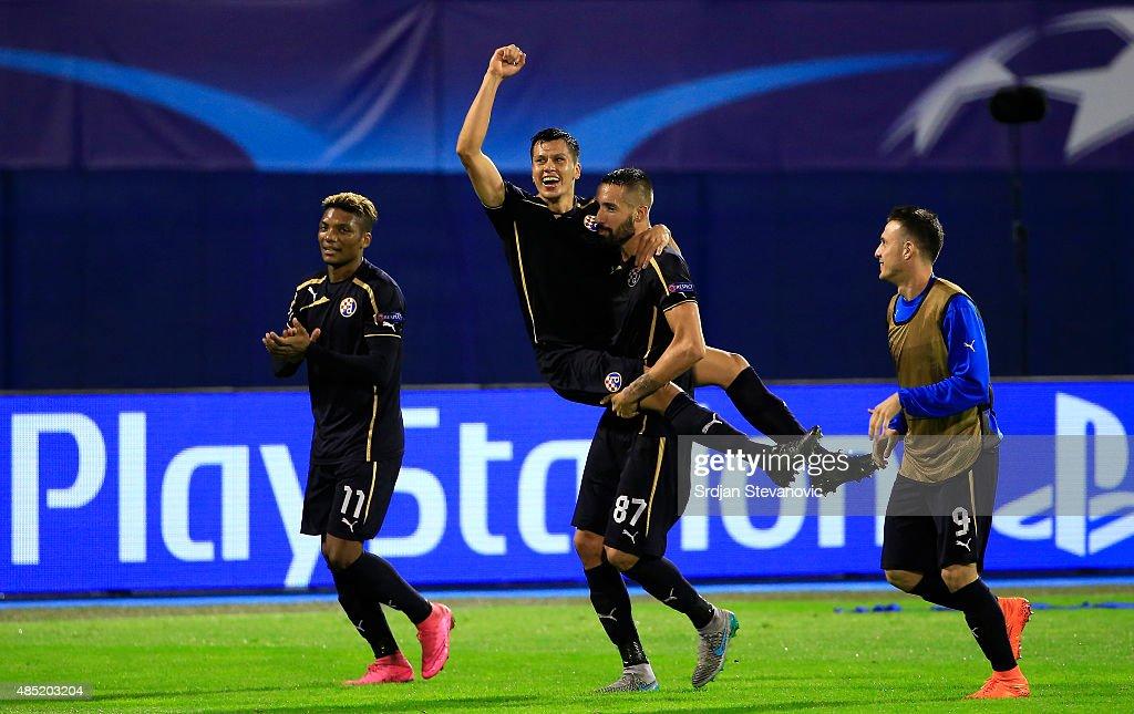 Dinamo Zagreb v KF Skenderbeu - UEFA Champions League: Qualifying Round Play Off Second Leg