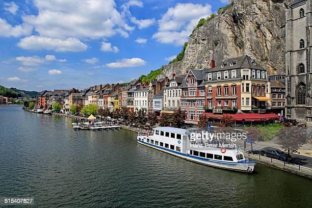 Dinant and river Meuse, Belgium