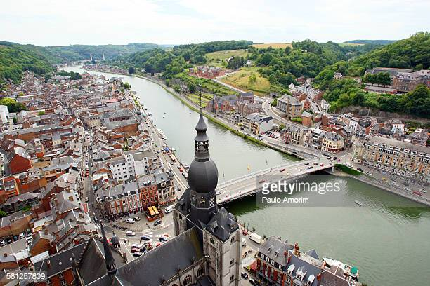 Dinant city from the 13th century in Belgium