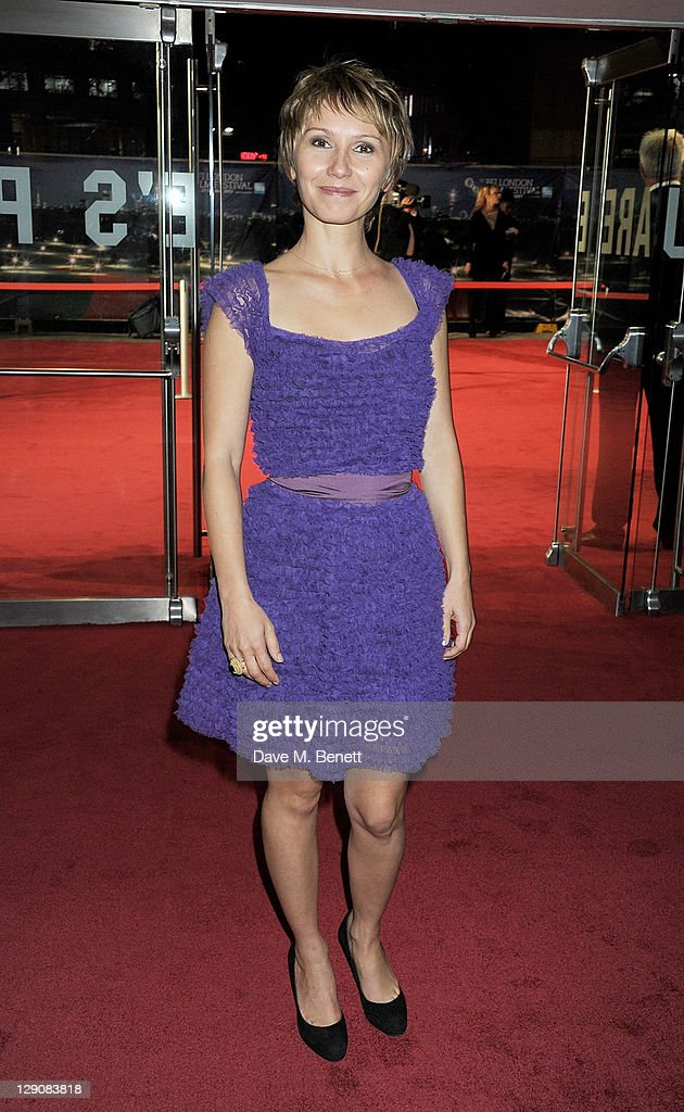 Dinara Drukarova attends the Opening Night Gala Premiere of 360 during the 55th BFI London Film Festival at Odeon Leicester Square on October 12, 2011 in London, England.