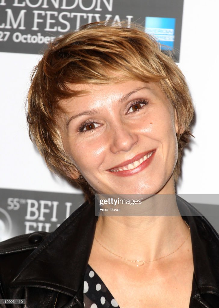 Dinara Drukarova attends the photocall for European '360', at The 55th BFI London Film Festival at Vue West End on October 12, 2011 in London, England.