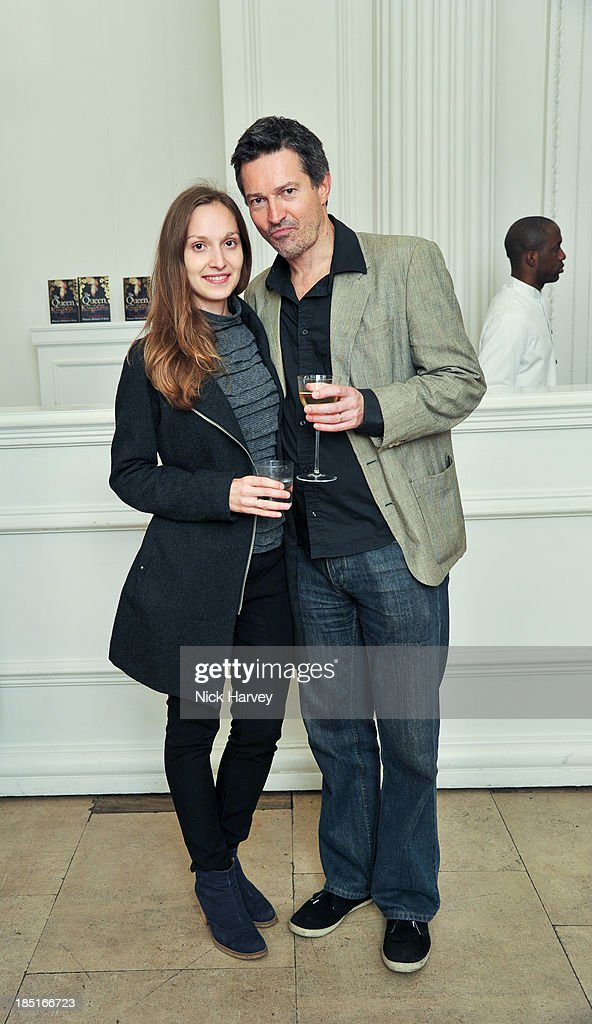Dinara Kettlewell and John Kettlewell attend the book launch party for 'The Queen Of Four Kingdoms' by Princess Michael of Kent at The Orangery on October 17, 2013 in London, England.