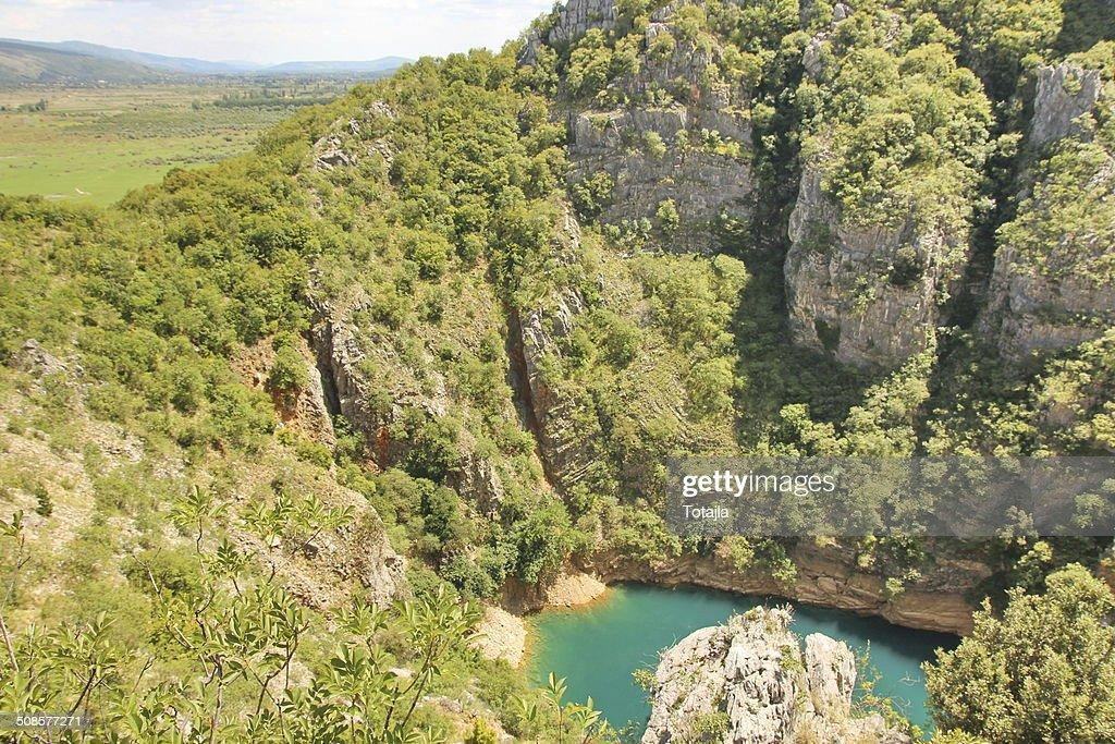Dinaric bewundern und die Berge in Kroatien : Stock-Foto