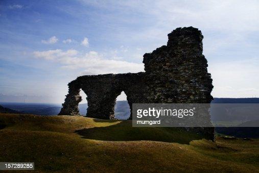dinas bran castle ruin