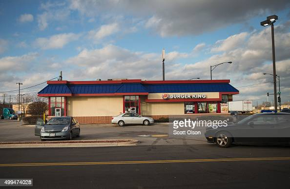 A diner orders food from a Burger King restaurant on the city's Southwest side on December 1 2015 in Chicago Illinois People have accused Chicago...
