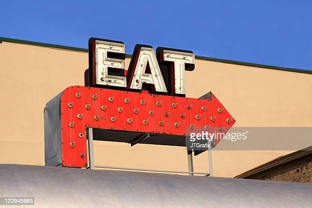 Diner Sign - Eat
