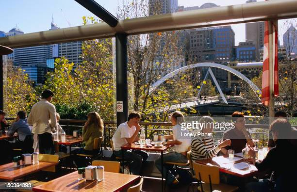 Diners at Southbank.