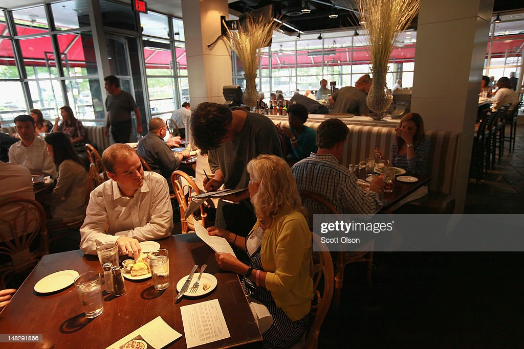 Diners Eat Lunch At The Kingu0027s Kitchen On July 11 2012 In Charlotte North  Carolina The