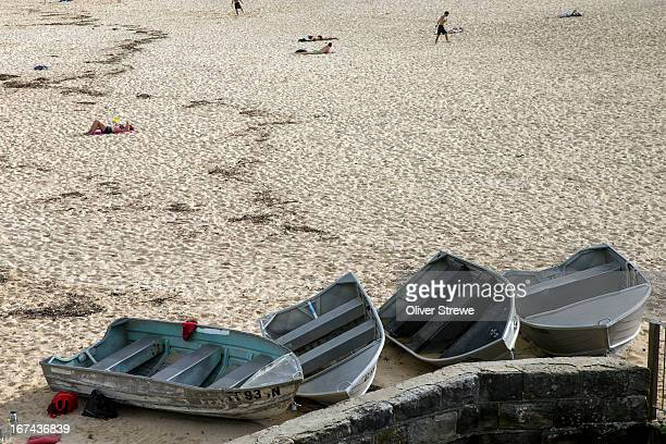 Dinghies on Coogee Beach