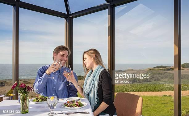 Dining by Ocean