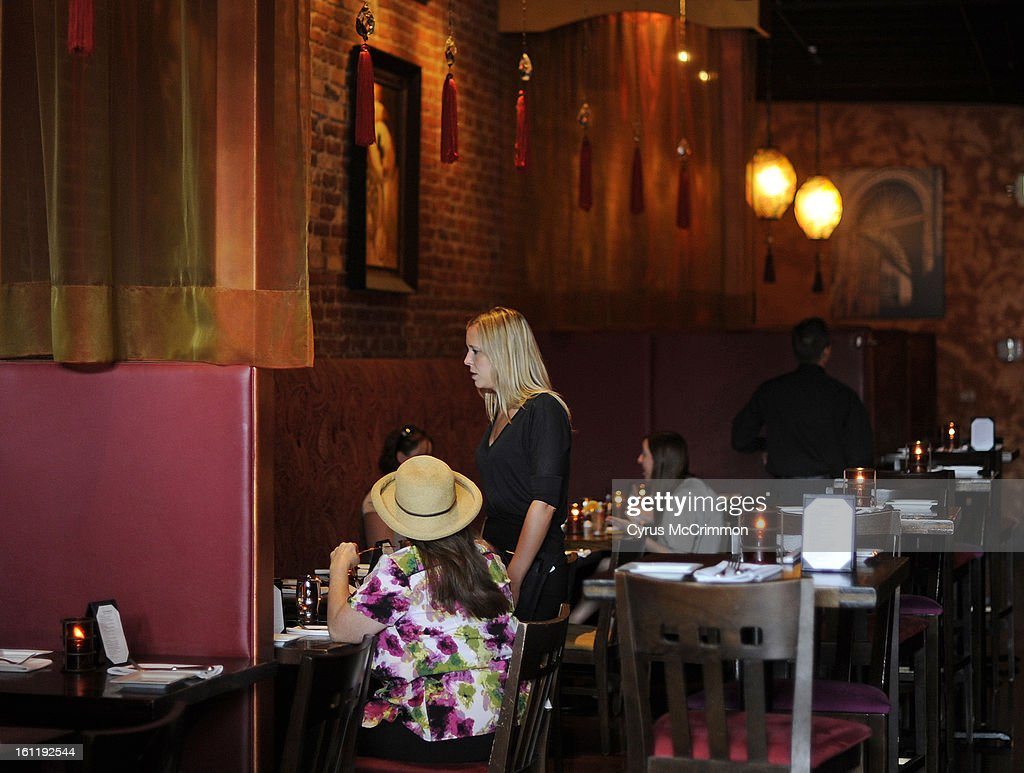 Dining review of the restaurant The Ninth Door 1808 Blake Street in LoDo on Thursday June & The Ninth Door Stock Photos and Pictures | Getty Images pezcame.com