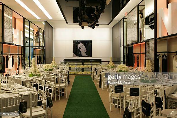 Dining Room attends The Camellia Luncheon Sponsored by Chanel to benefit The New York Botanical Garden at Chanel on October 25 2005 in New York City