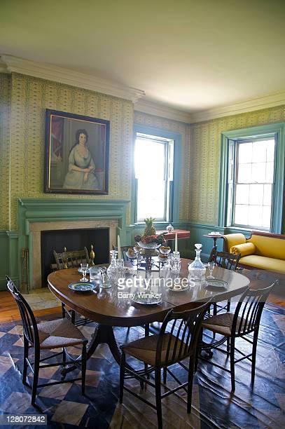 Dining room, MorrisJumel Mansion Museum, Upper West Side, New York, NY, U.S.A.