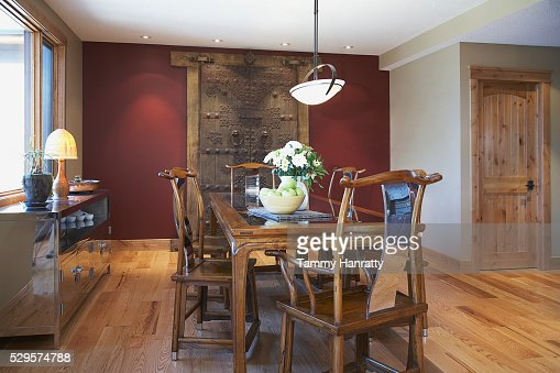 Dining room : Foto stock