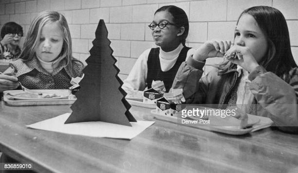 Dining While They Listen to Music Are From left Gay Alien Jennifer Holliness and Kim Arnold All Fifth Graders Credit Denver Post