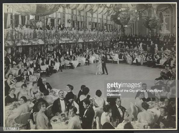 Dining/ball room at the Biltmore Hotel 43rd Street and Madison Avenue New York New York 1919