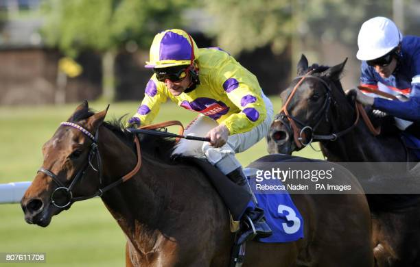Dinkum Diamond ridden by Dane O'Neill goes on to win The 66 of Free Bets At Bluesqcom National Stakes at Sandown Racecourse Sandown