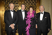 Dinner cochair Lorenzo D Weisman honoree Charlie Rose MarieMonique Steckel President of the French Institute Alliance Francais and dinner cochair...