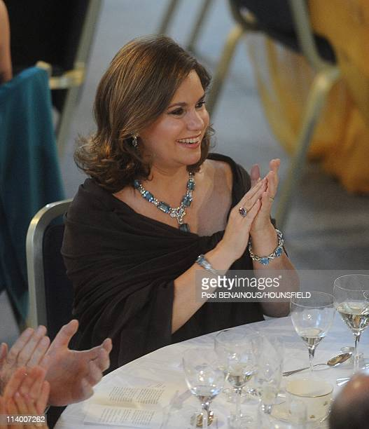 Dinner Hosted by the government of Sweden in honnor of the wedding of Princess Victoria In Stockholm Sweden On June 18 2010Duchess Marie Theresa of...