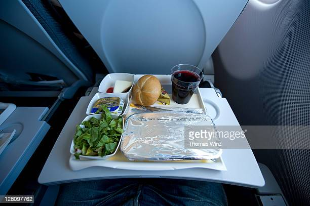 Dinner on the airplane
