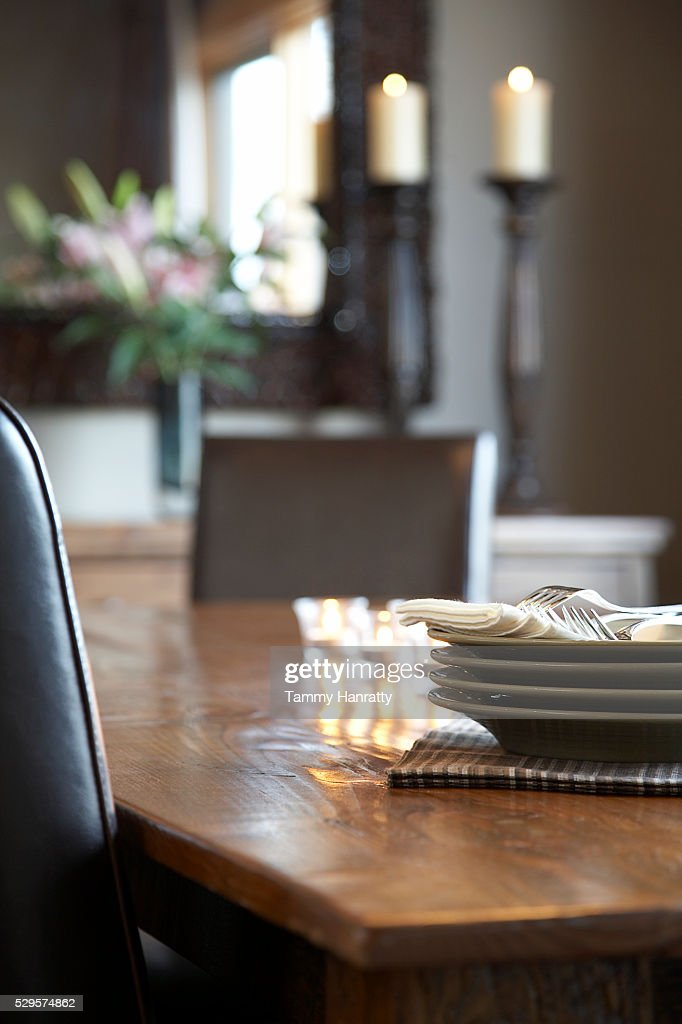 Dinner table : Stock Photo