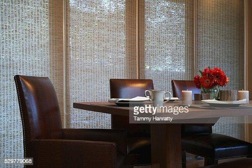 Dinner table : Stock-Foto