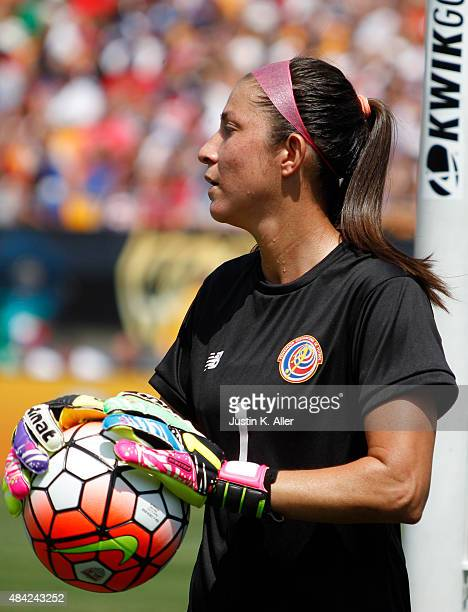 Dinnia Diaz of Costa Rica during the match against the United States at Heinz Field on August 16 2015 in Pittsburgh Pennsylvania