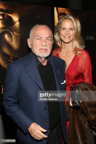 Dino De Laurentiis and Martha De Laurentiis during MetroGoldwynMayer Pictures' and The Weinstein Company's Premiere of 'Hannibal Rising' Inside...
