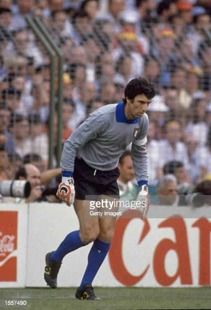 Dino Zoff of Italy during the World Cup in Spain Mandatory Credit AllsportUK /Allsport
