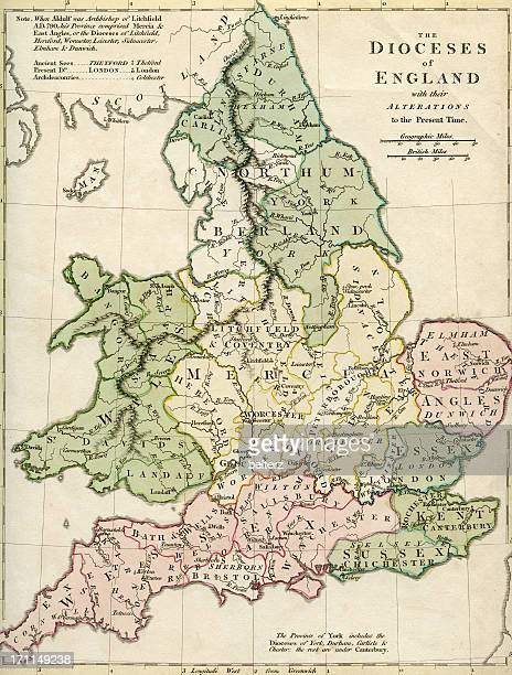 Dioceses of England