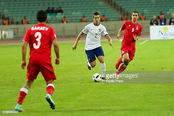 Diogo Dalot of Portugal controls the ball during the UEFA European Under17 Championship Azerbaijan 2016 Group A match between Azerbaijan v Portugal...