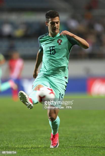Diogo Dalot of Portugal in action during the FIFA U20 World Cup Korea Republic 2017 group C match between Costa Rica and Portugal at Jeju World Cup...