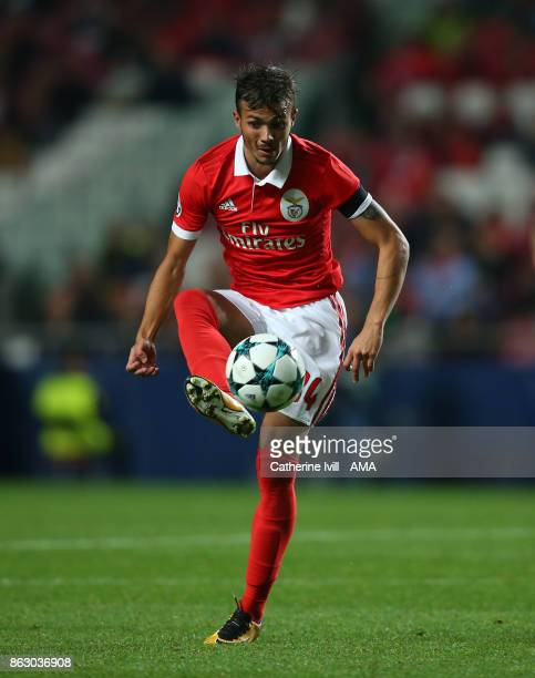 Diogo Goncalves of Benfica during the UEFA Champions League group A match between SL Benfica and Manchester United at Estadio da Luz on October 18...