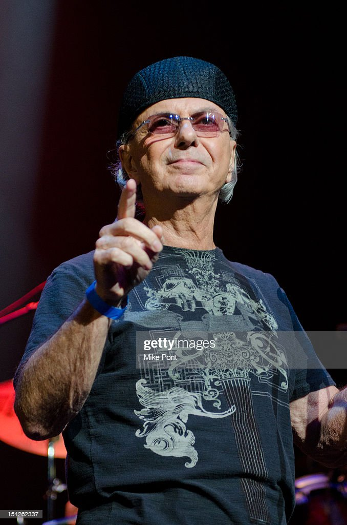 Dion DiMucci Performs at The Little Kids Rock's 10th Anniversary Celebration at Manhattan Center Grand Ballroom on October 16, 2012 in New York City.