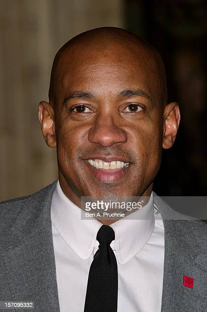 Dion Dublin attends the Princes' Trust Comedy Gala at Royal Albert Hall on November 28 2012 in London England