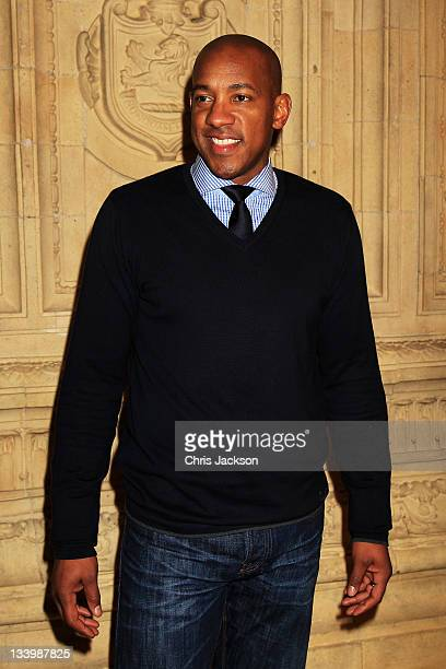 Dion Dublin attends the Prince's Trust Rock Gala 2011 at Royal Albert Hall on November 23 2011 in London England The gala sponsored by Novae raises...