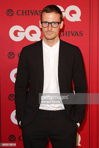 Dion Lee arrives at the GQ Men of the Year awards at the Ivy Ballroom on November 19 2013 in Sydney Australia