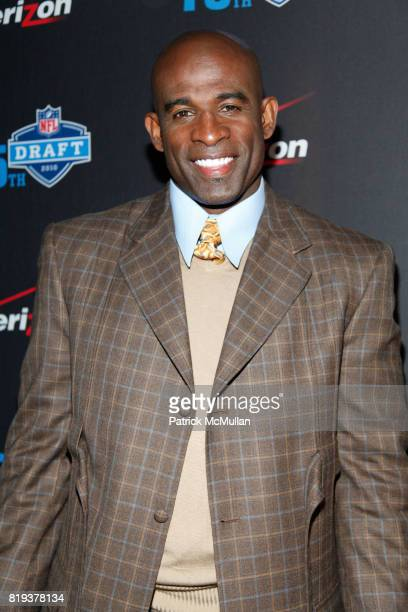 Dion Sanders attends NFL and VERIZON Celebrate Draft Eve at Abe and Arthur's on April 21 2010 in New York City