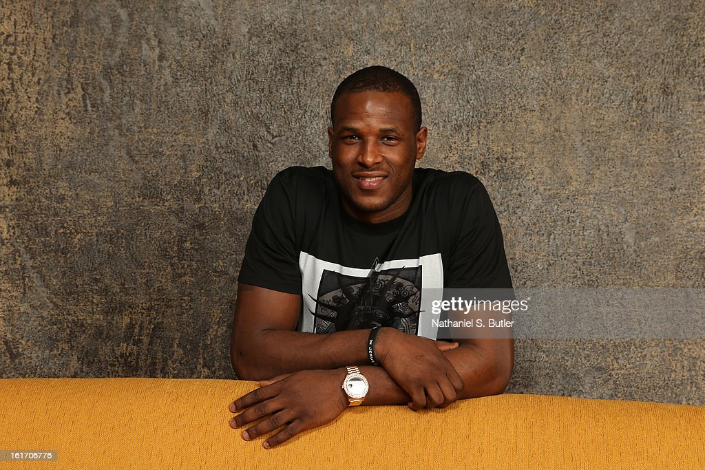 Dion Waiters #3 of the Cleveland Cavaliers poses for portraits during the NBAE Circuit as part of 2013 All-Star Weekend at the Hilton Americas Hotel on February 14, 2012 in Houston, Texas.