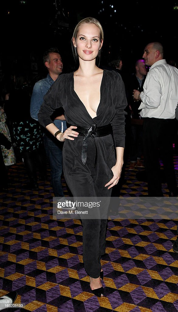 Dioni Tabbers attends an after party following the 'Welcome To The Punch' UK Premiere at the Hippodrome Casino on March 5, 2013 in London, England.