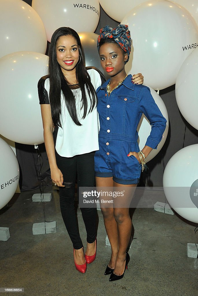 <a gi-track='captionPersonalityLinkClicked' href=/galleries/search?phrase=Dionne+Bromfield&family=editorial&specificpeople=6400392 ng-click='$event.stopPropagation()'>Dionne Bromfield</a> and A*M*E attend the Warehouse Summer Party at The Yard on May 15, 2013 in London, England.
