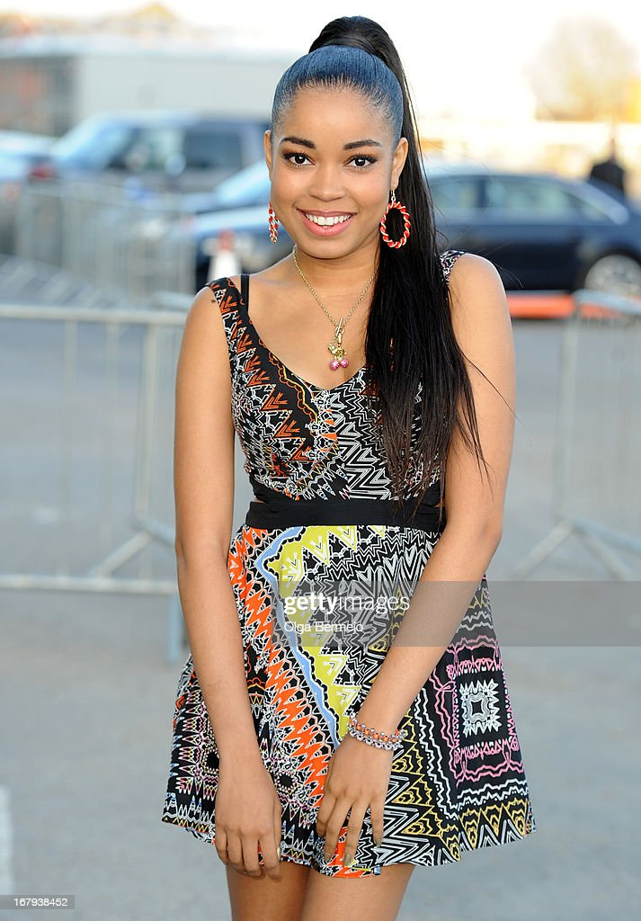 Dionne Bromfield attends the annual fundraiser in aid of Gabrielle's Angel Foundation for Cancer Research at Battersea Power station on May 2, 2013 in London, England.
