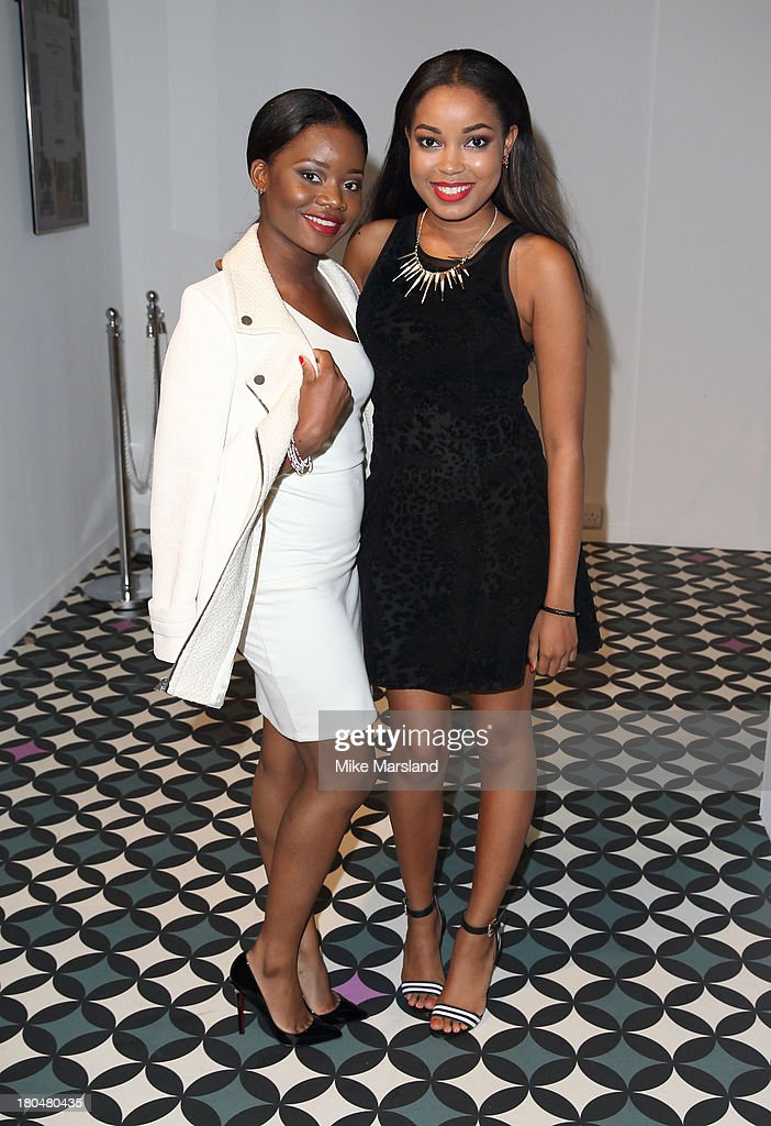 <a gi-track='captionPersonalityLinkClicked' href=/galleries/search?phrase=Dionne+Bromfield&family=editorial&specificpeople=6400392 ng-click='$event.stopPropagation()'>Dionne Bromfield</a> attends the Jean-Pierre Braganza show during London Fashion Week SS14 at BFC Courtyard Showspace on September 13, 2013 in London, England.