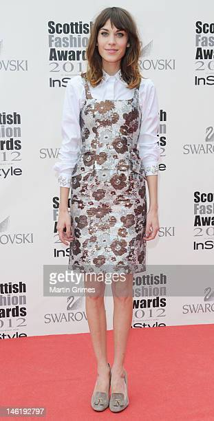 Dionne Bromfield attends the Scottish Fashion Awards 2012 at The Clyde Auditorium on June 11 2012 in Glasgow Scotland