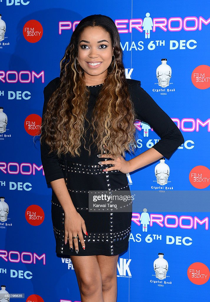 <a gi-track='captionPersonalityLinkClicked' href=/galleries/search?phrase=Dionne+Bromfield&family=editorial&specificpeople=6400392 ng-click='$event.stopPropagation()'>Dionne Bromfield</a> attends the UK Premiere of 'Powder Room' at Cineworld Haymarket on November 27, 2013 in London, England.