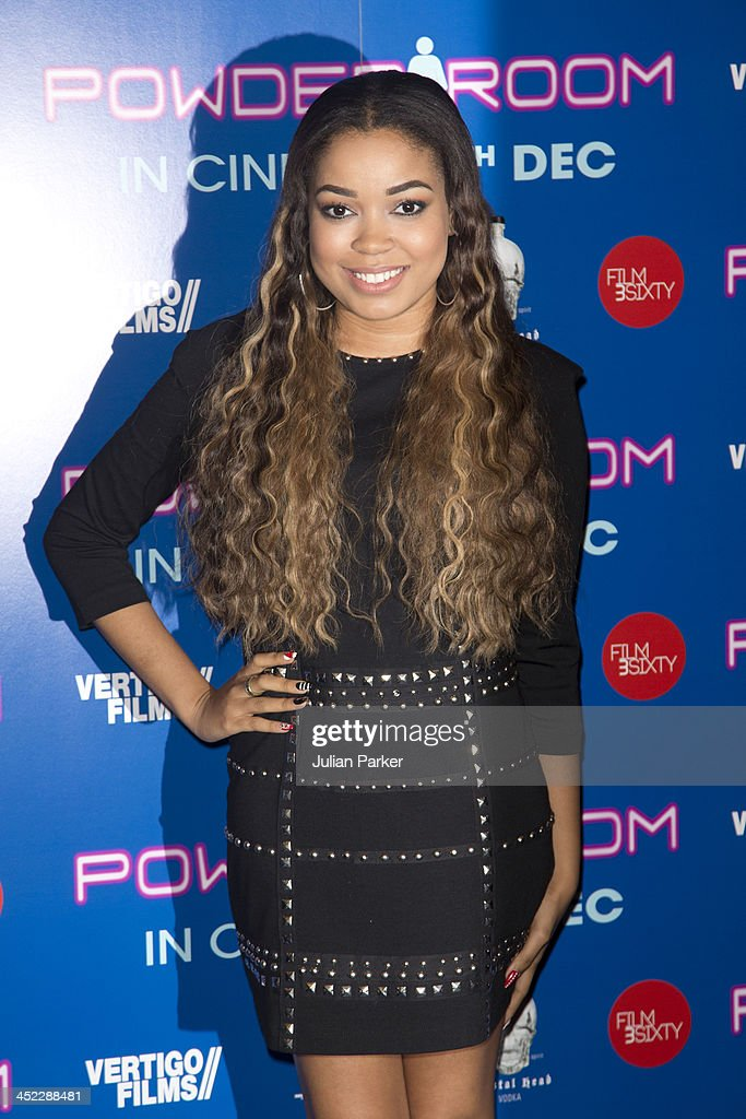 Dionne Broomfield attends the UK Premiere of 'Powder Room' at Cineworld Haymarket on November 27, 2013 in London, England.